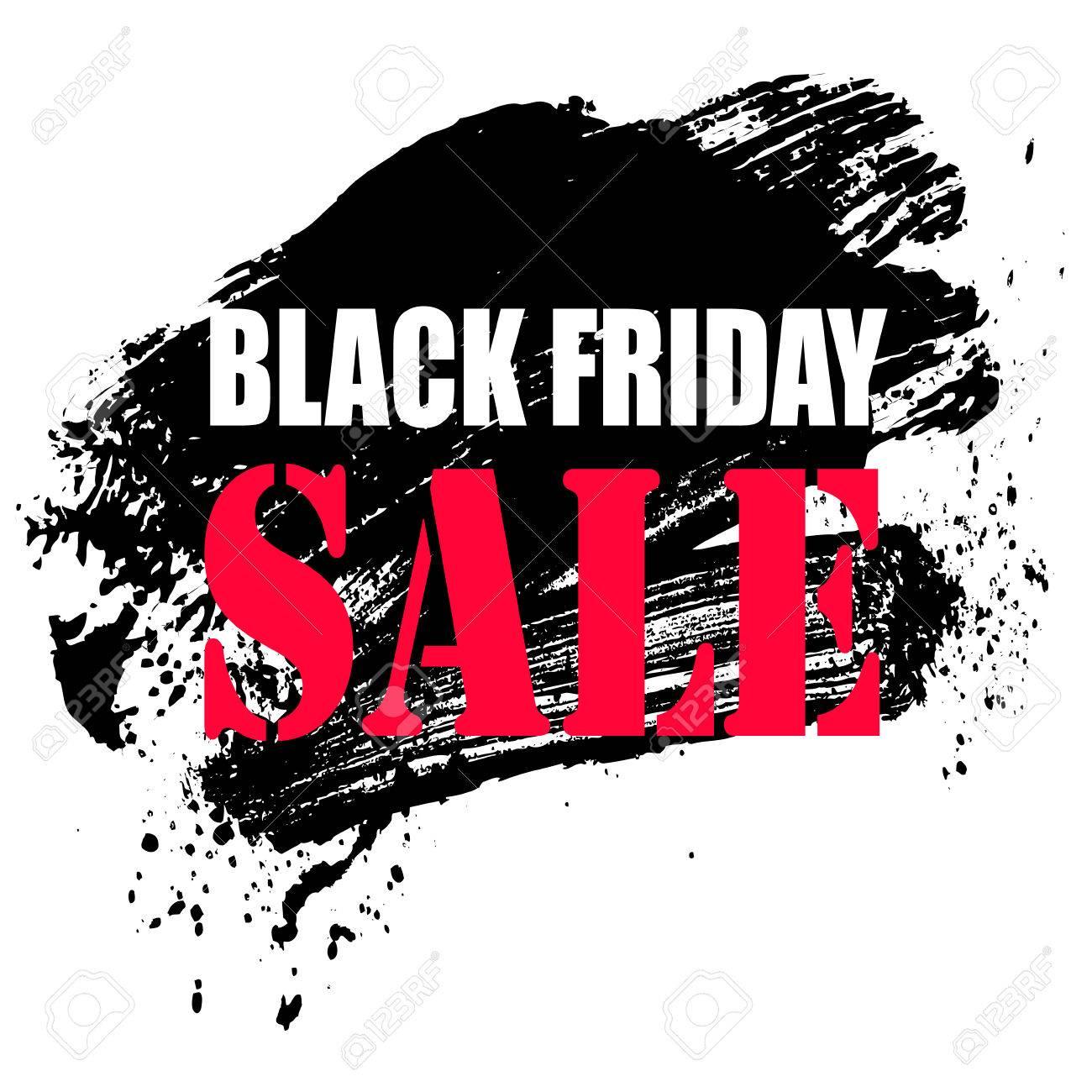 A black friday sale background, vector illustration clip.