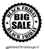 Black Friday Sale Clip Art.