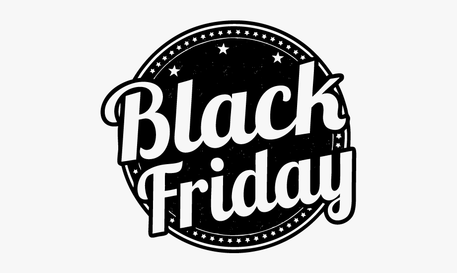 Black Friday Free Png Image.