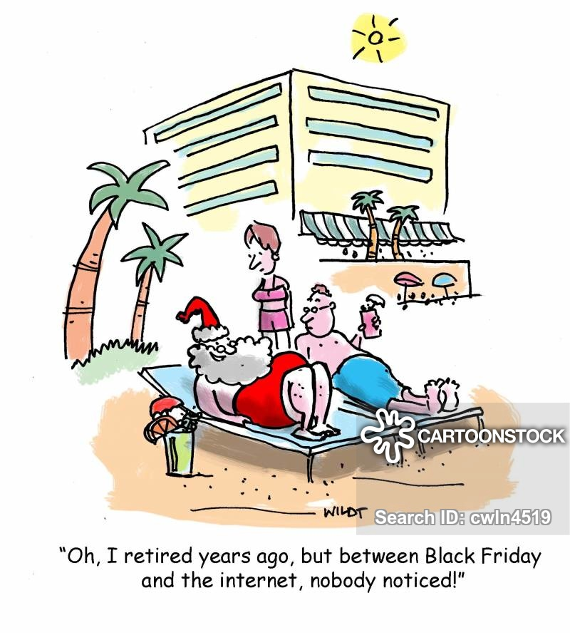 Black Friday Cartoons and Comics.