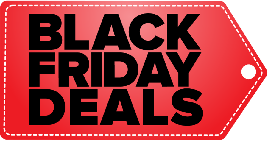 Black Friday Black Background clipart.
