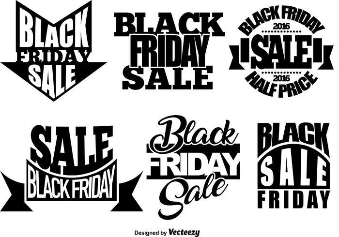 Set Of Black Friday Templates.