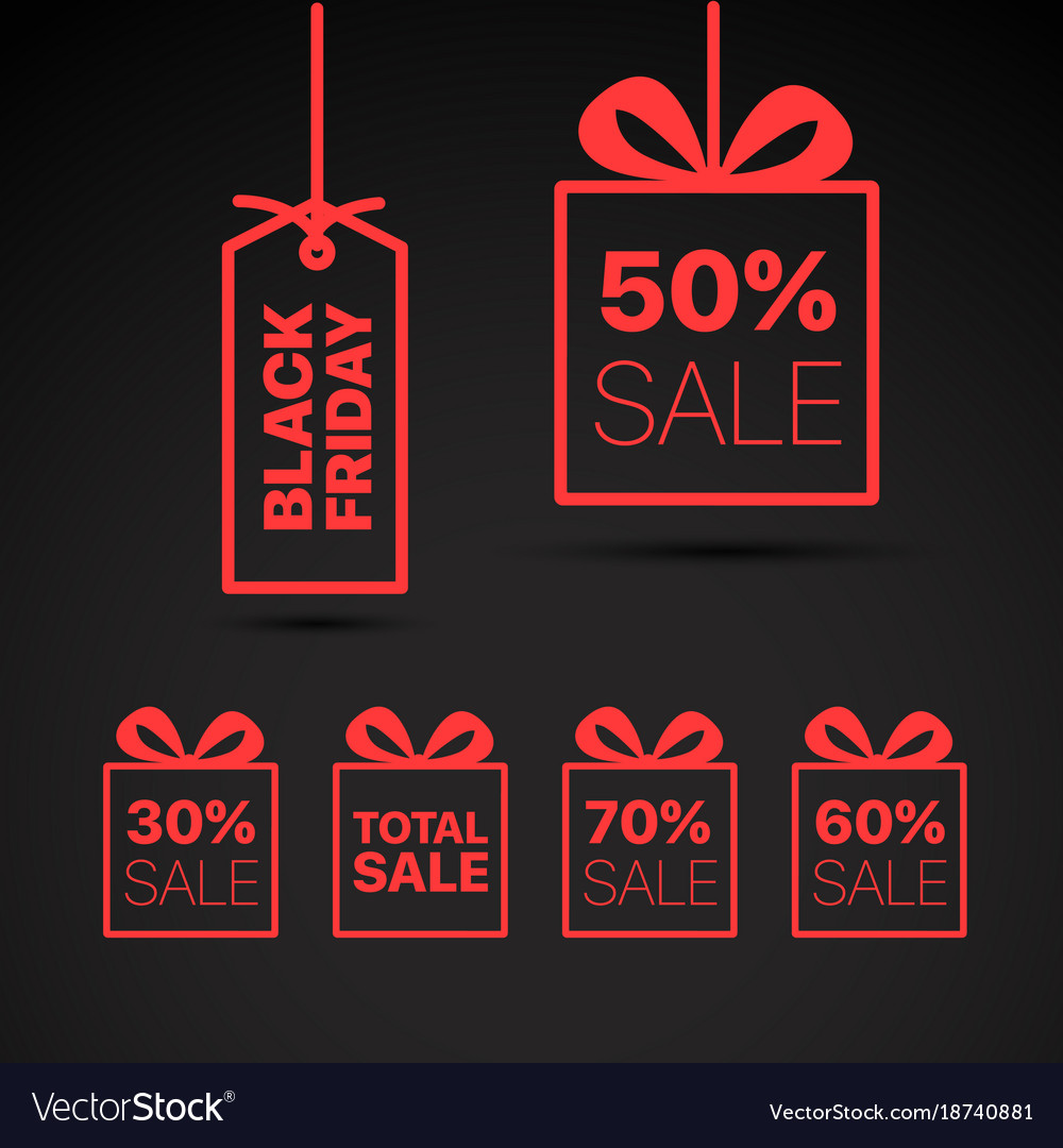 Black friday label black friday sale clipart.