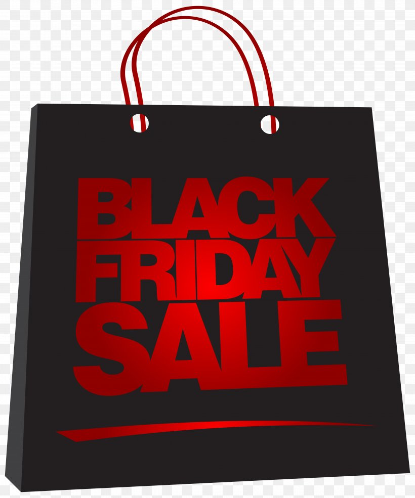 Black Friday Sales Bag Clip Art, PNG, 4891x5877px, Black.