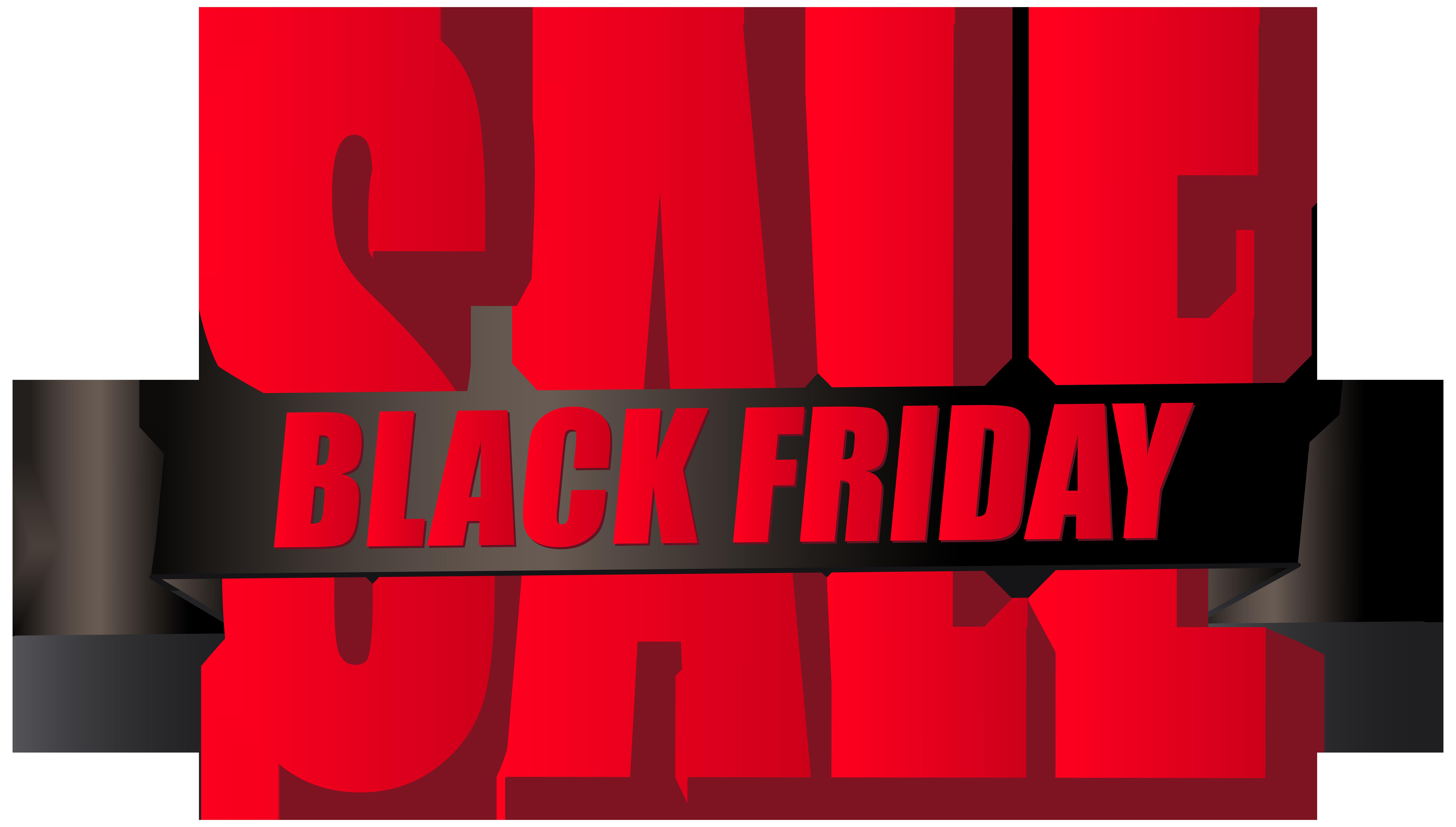 Black Friday Sale PNG Clip Art.