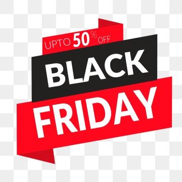 Black Friday PNG Images.