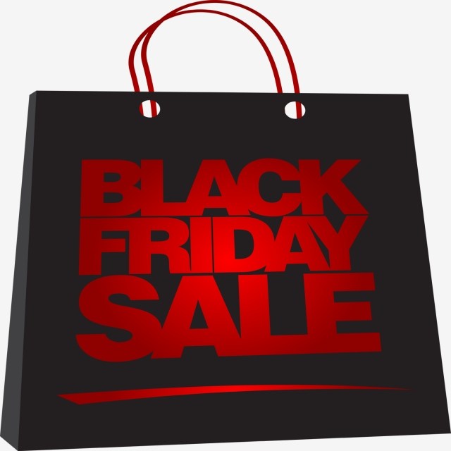 Black Friday Marketing, Clipart, Black Friday, Sales PNG and PSD.