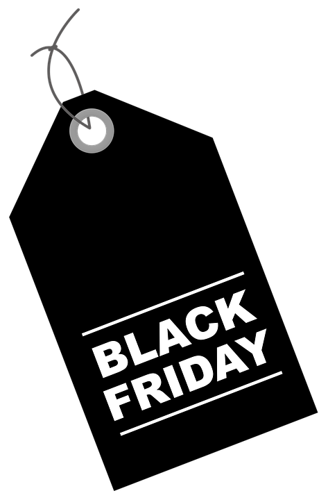 Free photo Black Friday Discount Promotion Discounts Label.