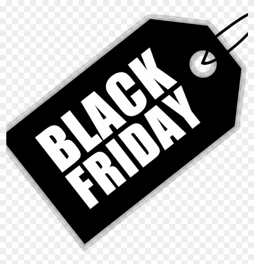 Image Shows Black Friday Tag.