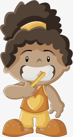 Png Woman Brush Teeth Black & Free Woman Brush Teeth Black.