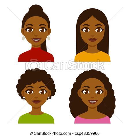 Black women set.