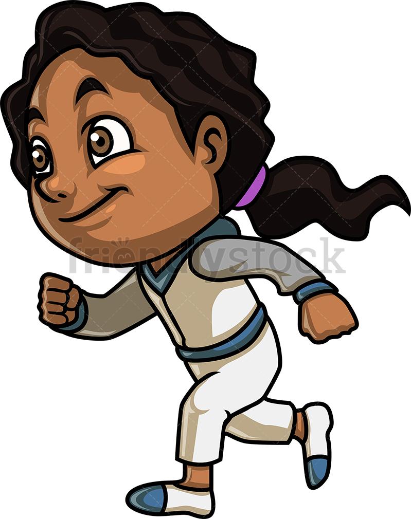 Black Girl Running.