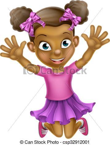 Black girl Clip Art Vector Graphics. 50,510 Black girl EPS clipart.