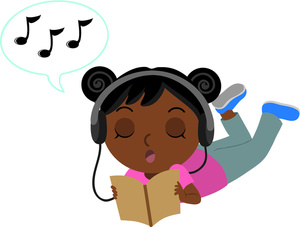 Clipart of black girl.