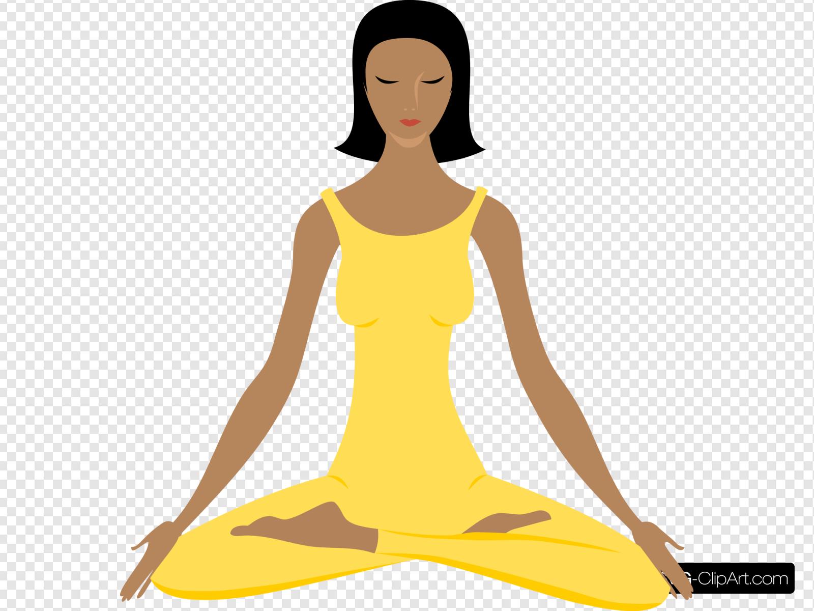 Yoga Clip art, Icon and SVG.