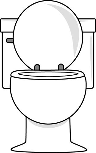 Free Potty Clipart Black And White, Download Free Clip Art.