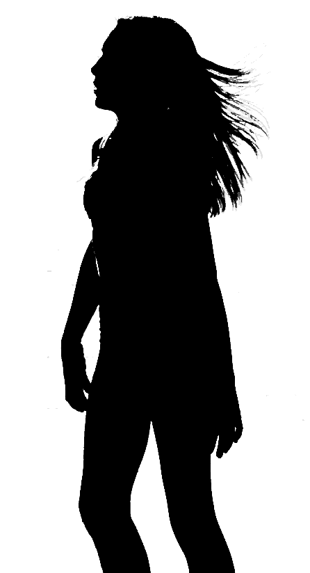 Preteen Walking Girl Png Black And White & Free Preteen Walking Girl.