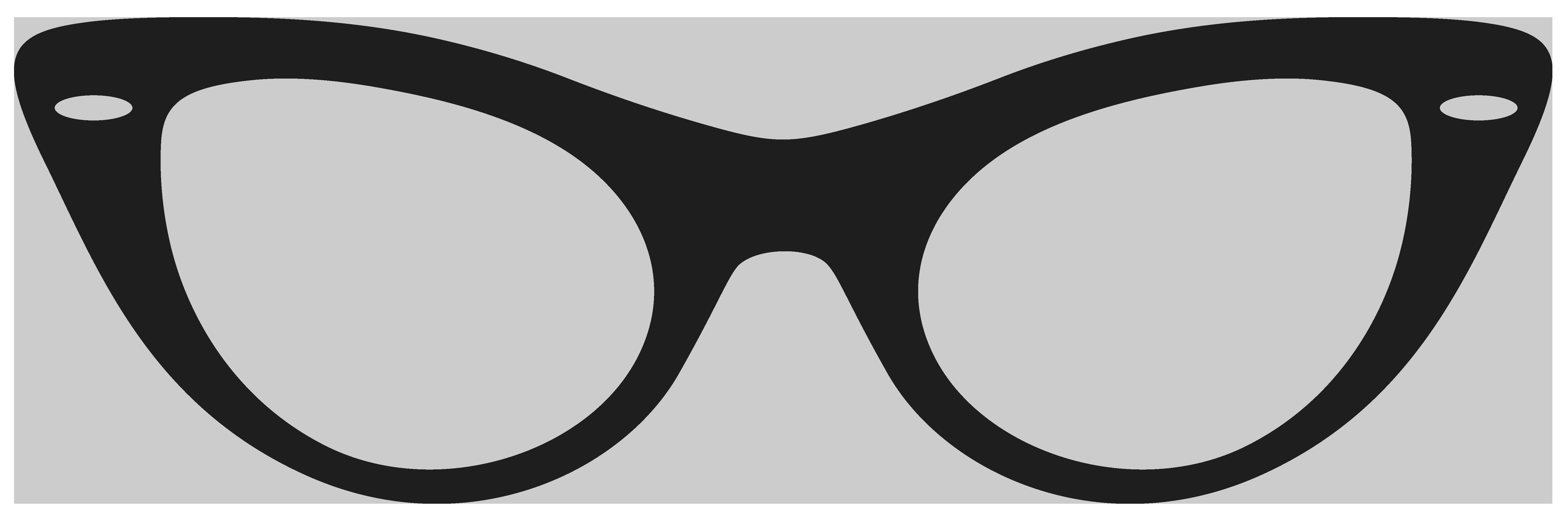 Black Glasses Clipart Clipground