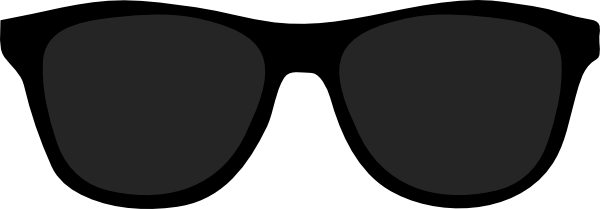 Sunglasses Clip Art Black And White.