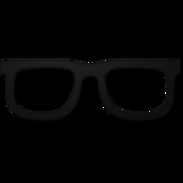 Black Glasses Clip Art.