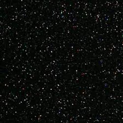 Black Glitter Siser HTV.