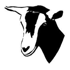 GOAT / COW CLIP ART.