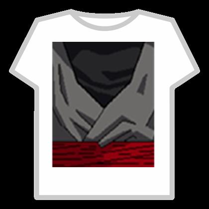 Black Goku t shirt.