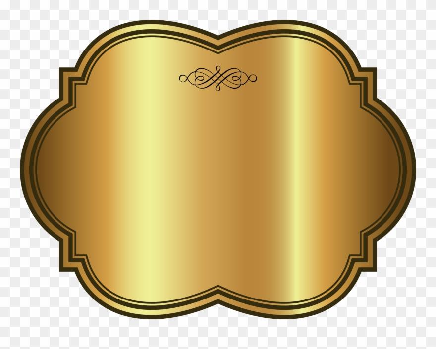 Gold Banner Png Transparent , Png Download.