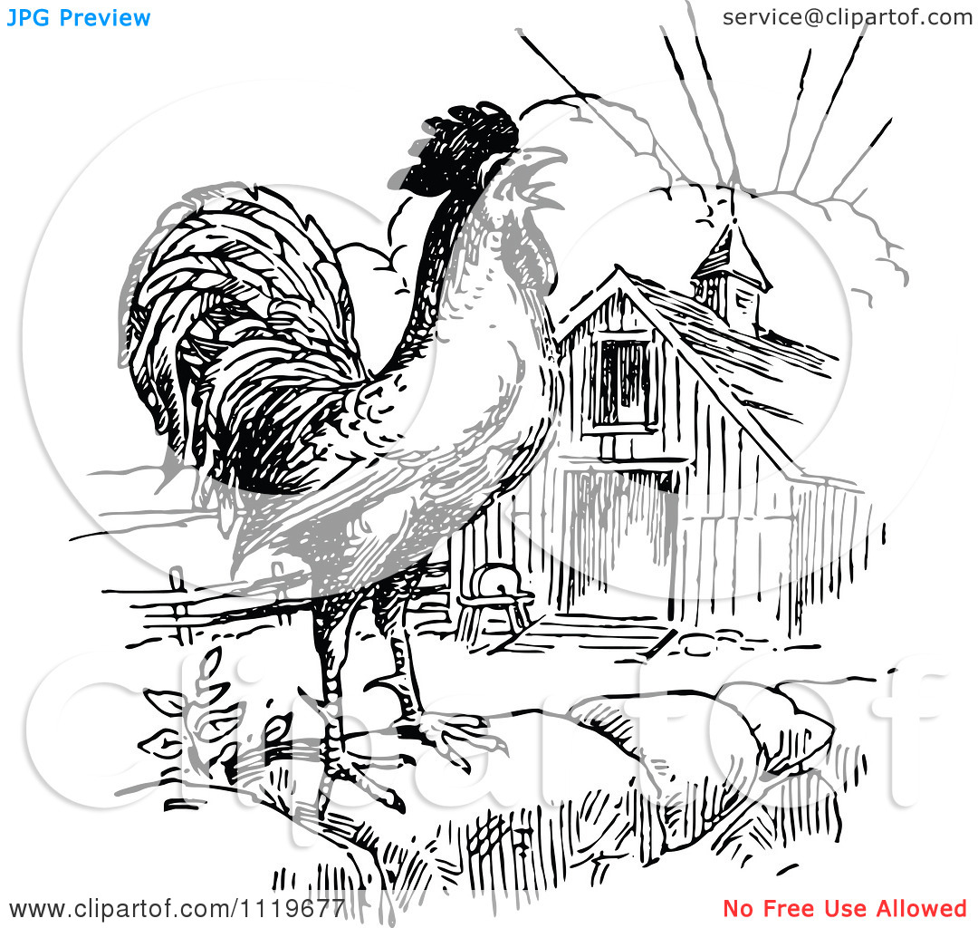 Good Morning Black And White Clipart.