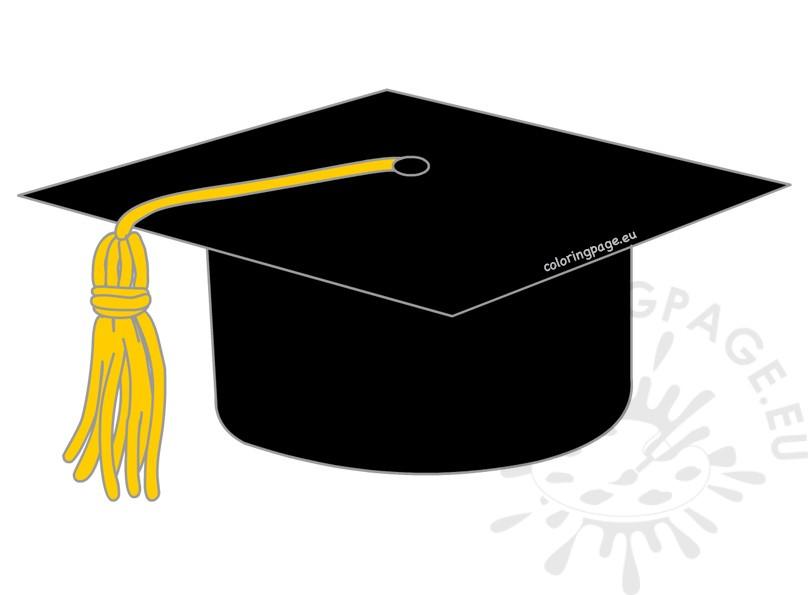 444 Graduation Hat free clipart.
