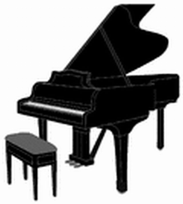 Grand Piano Clipart.
