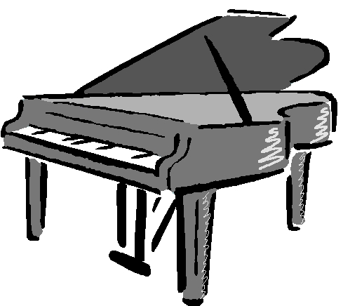 Grand Piano Clipart.