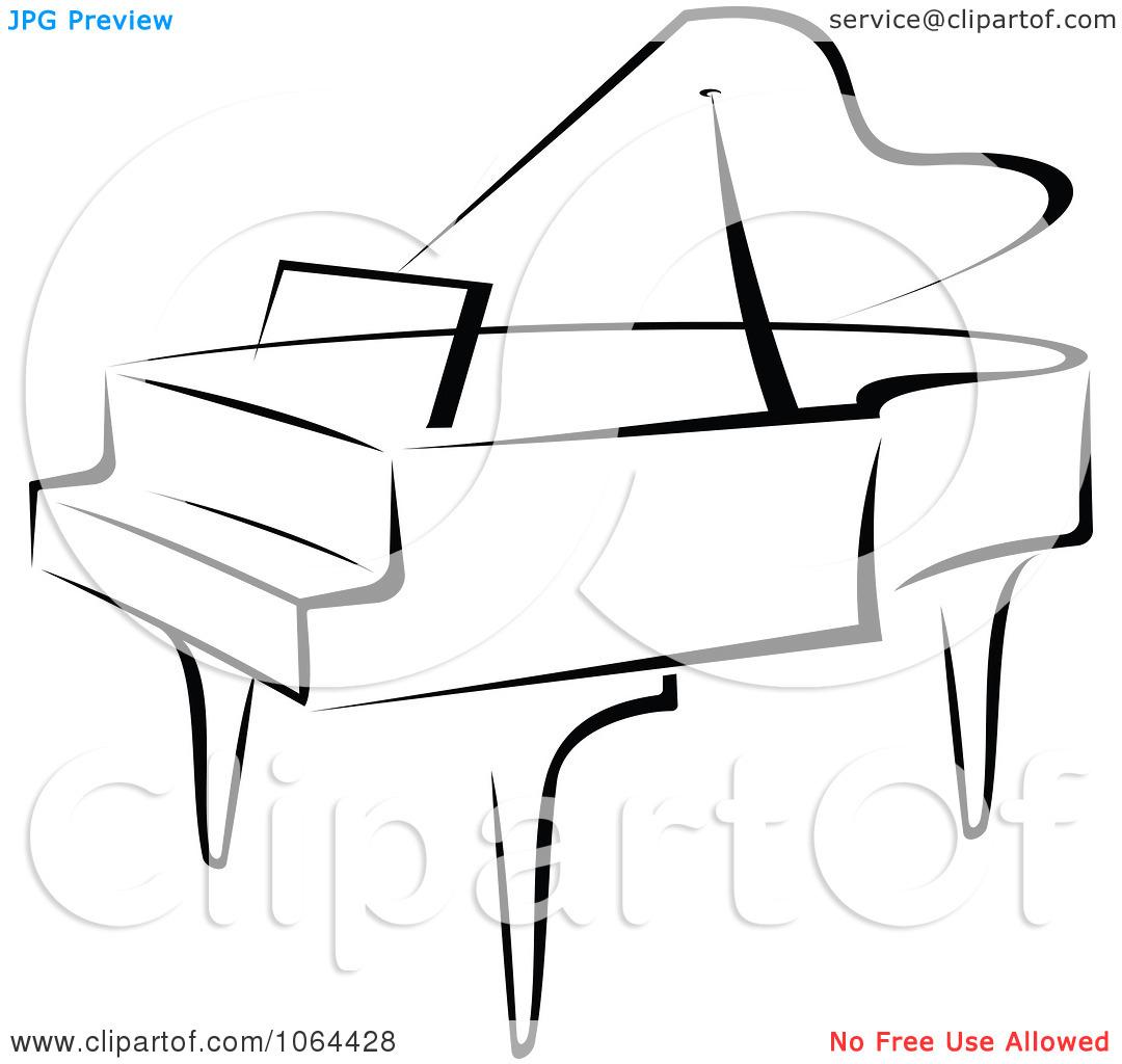 Grand piano clipart free.