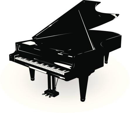 Clipart grand piano.