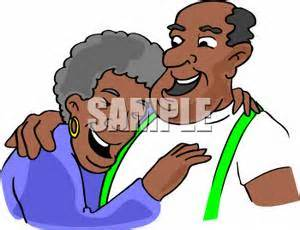 African American Grandparents Day Clipart & Clip Art Images #2590.