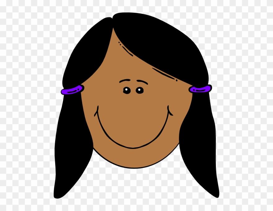 Black Hair Clipart Black Hair Clip Art.