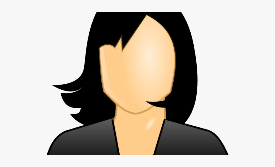 Girl Clipart Black Hair.