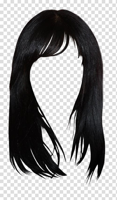 Black wig, Black hair Brown hair Bangs Hairstyle, hair style.