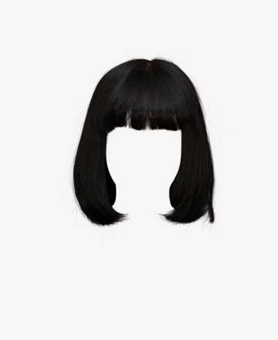 Free Wig Short Hair Clips To Pull, Wig, Short Hair, Material PNG.