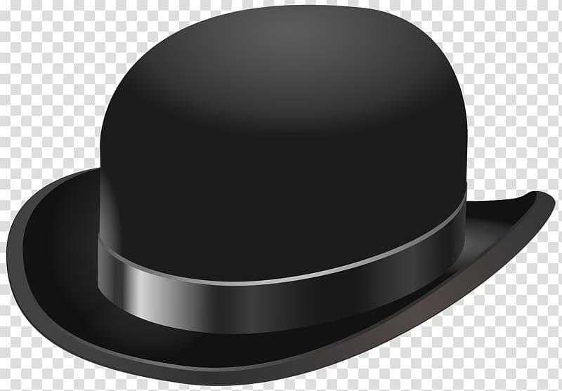 Black hat , Bowler hat Cowboy hat , Vintage Hat transparent.