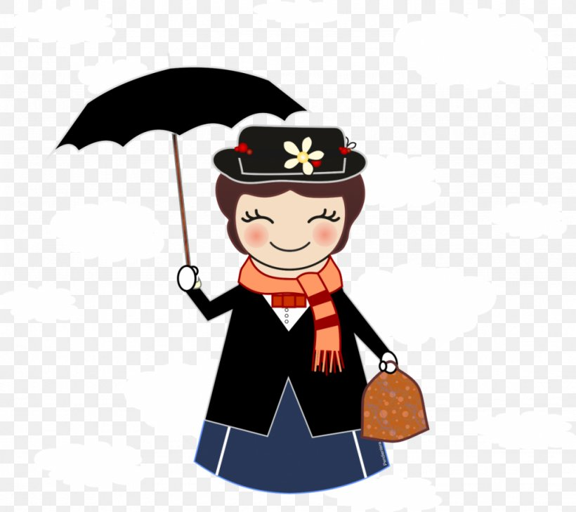 Mary Poppins Illustration Cartoon Drawing, PNG, 1024x911px.