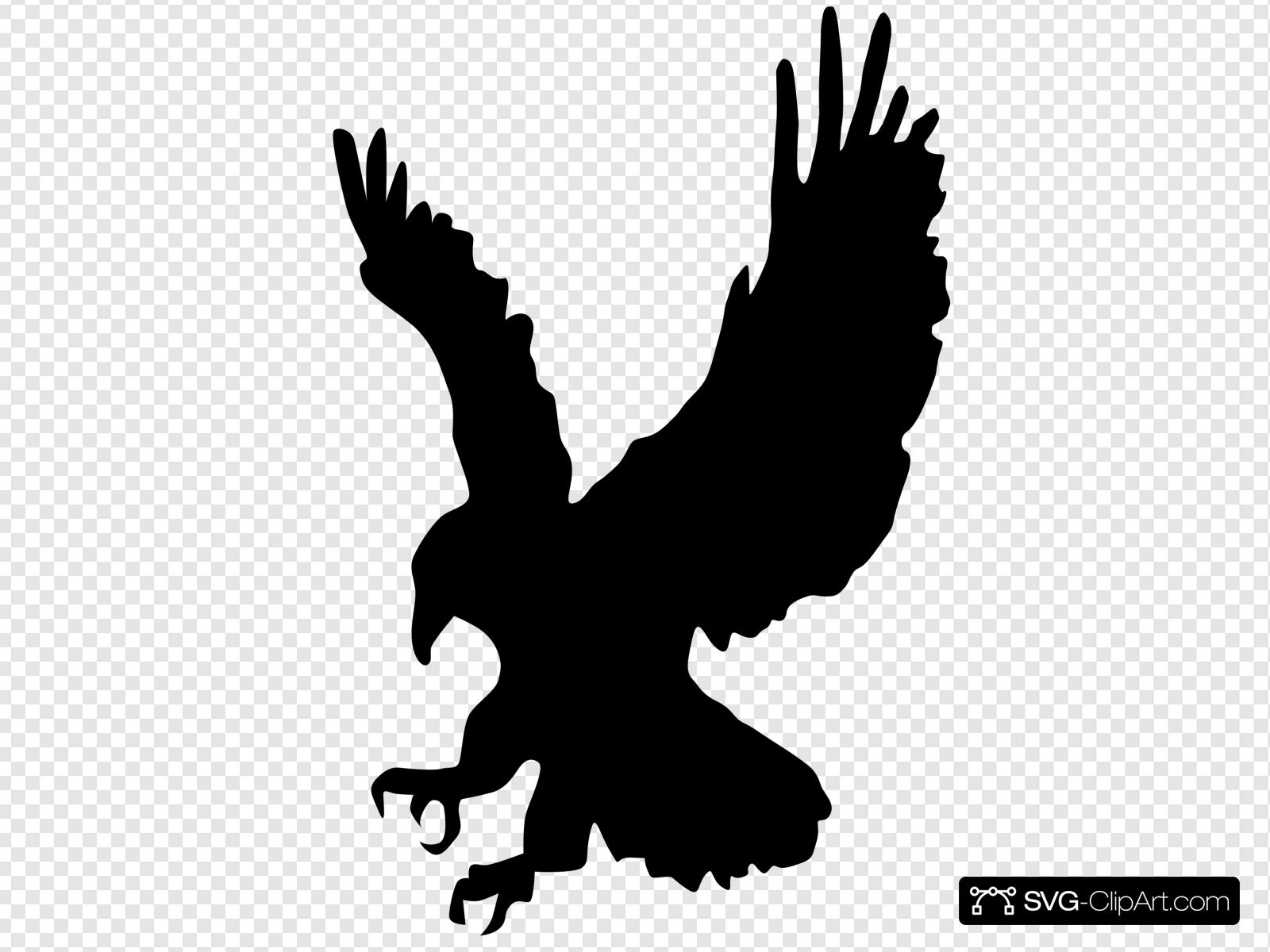 Black Hawk Clip art, Icon and SVG.