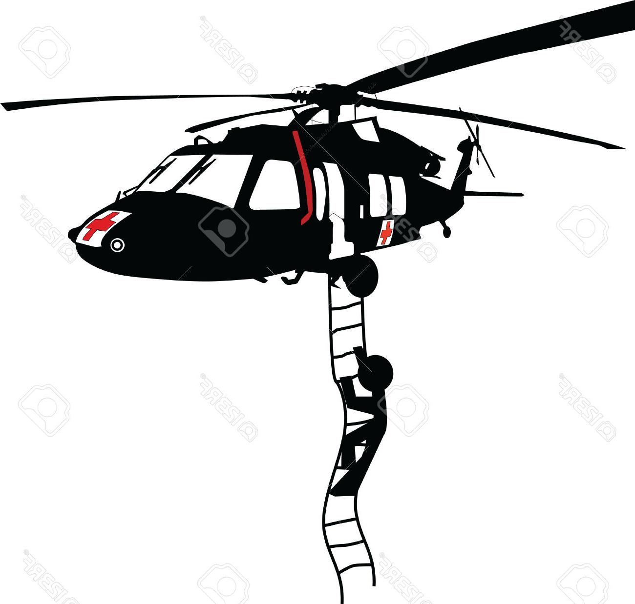 Top Blackhawk Helicopter Vector Image ~ Vector Images Design.