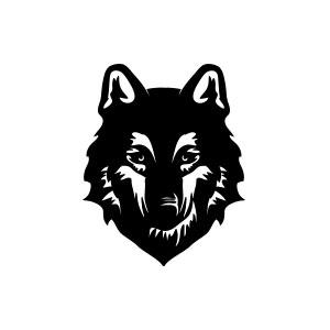 Wolf Head Logo.