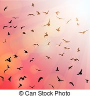 Black headed gull Clip Art Vector Graphics. 13 Black headed gull.