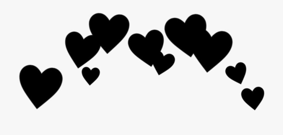 heart #cute #effect #black #blackheart #love #cool.