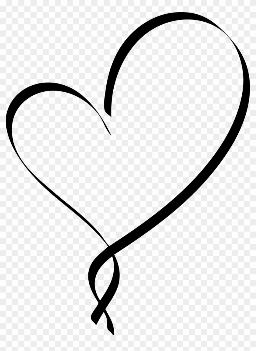 Ideas Black Heart Png Pic Vector, Clipart, Psd.