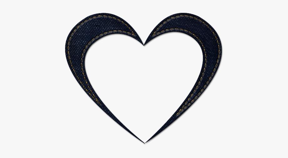 Transparent Heart Icon.