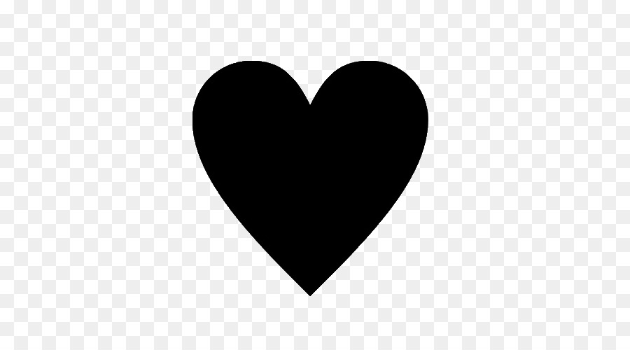 Free Black Heart Transparent Background, Download Free Clip.