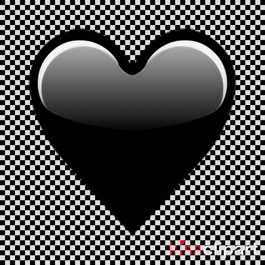 Black Love Emoji Clipart Emojipedia Heart.